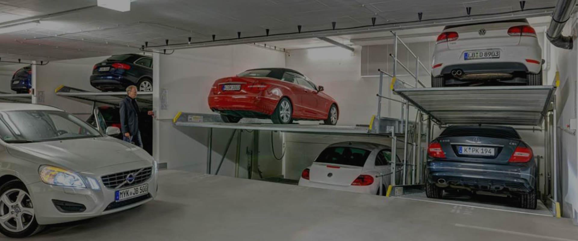 Μηχανικές Θέσεις Στάθμευσης